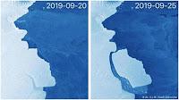 ΕΡΧΕΤΑΙ… Παγόβουνο όσο 15 φορές το Παρίσι αποκολλήθηκε από την Ανταρκτική!