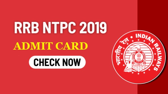 download railway ntpc admit card 2019