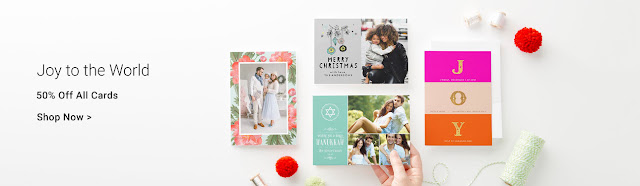 Joy to the World - Celebrate the season with beautiful, custom holiday cards