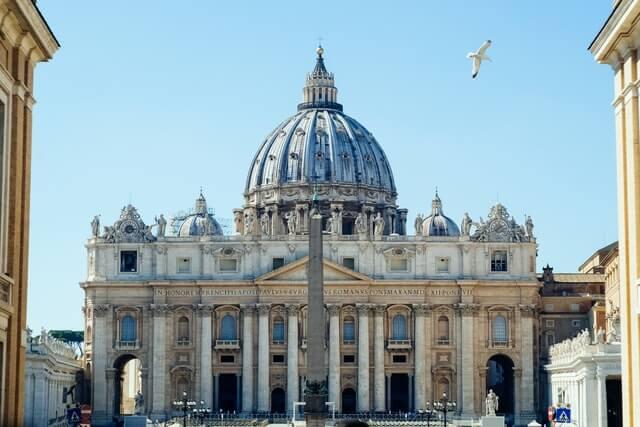 Igreja do Vaticano em Roma Itália