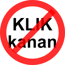 Tips Mematikan/Disable Fungsi Klik Kanan Di Blog - Anti Copas ~