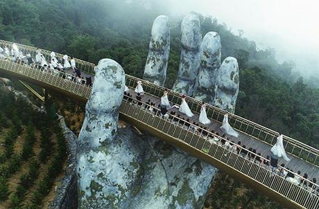 Đà Nẵng: Cầu Vàng Vào Top 100 Điểm Đến Tuyệt Vời Nhất Thế Giới