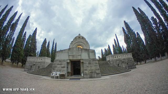 Serbian chapel - Zeitinlik military cemetery - Thessaloniki, Greece