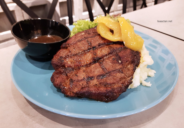 Brew House Signature Pork Steak - RM19.80