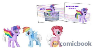 My Little Pony Rainbow Road trip Rainbow Tail Surprise Figures