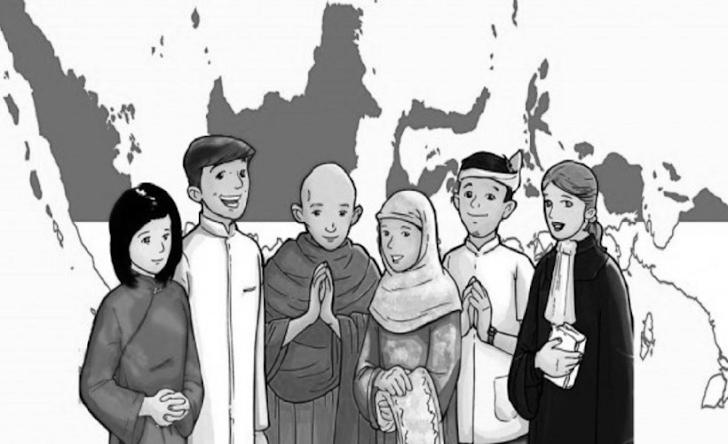 Kolom Gerakan Literasi : Toleransi Dalam Bermasyarakat Sesuai Dengan Penerapan Bhineka Tunggal Ika I Eka Agustina I SMK Muhammadiyah 1 Trenggalek