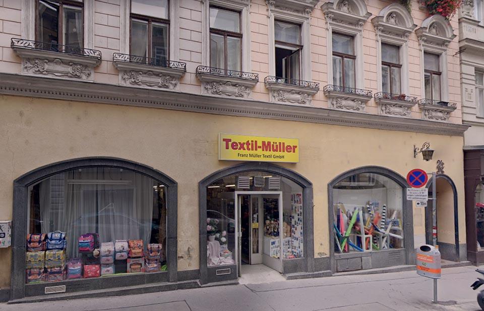 Fabric Stores in Vienna Textil-Müller