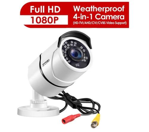 ZOSI 1080p HD 1920TVL Outdoor Indoor Security Camera