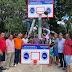 Fundación Ramona Polanco entrega modernos tableros baloncesto comunidad Yaiba de Castillo