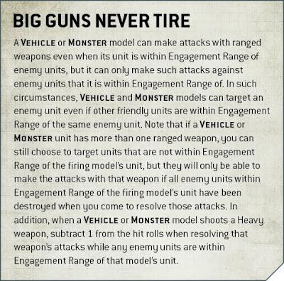 Los grandes cañones nunca decansan
