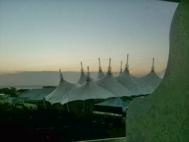 Butlins Wave Hotel balcony view