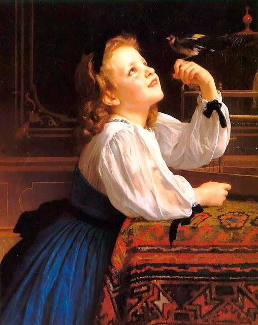 Адольф Вильям Бугро - Птица (1867)