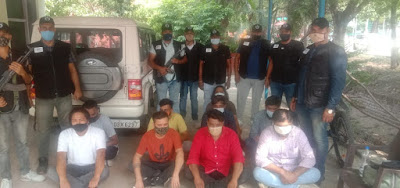 Call Centre targeting US citizens busted by Haryana Police, 9 held