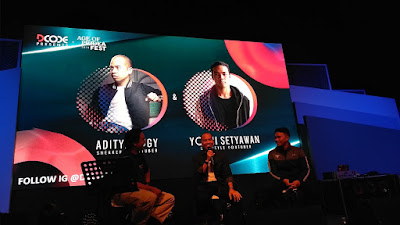 Adityalogy dan Yoshi Setyawan