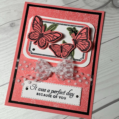 Butterfly Greeting card using Floating & Fluttering Bundle from Stampin' Up!