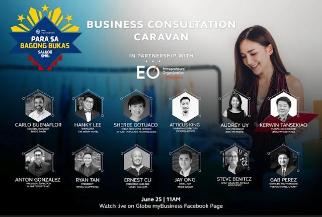 Globe MyBusiness Consultation Caravan