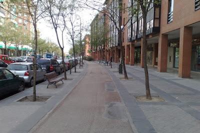 Un relato de una calle de Madrid un domingo cualquiera