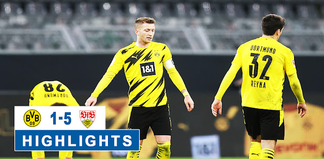 Borussia Dortmund vs Stuttgart – Highlights