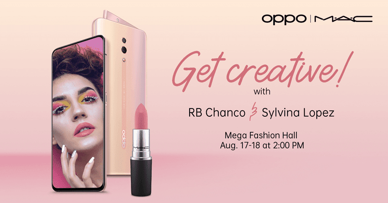 Do it for the gram with OPPO Reno Sunset Rose and M·A·C