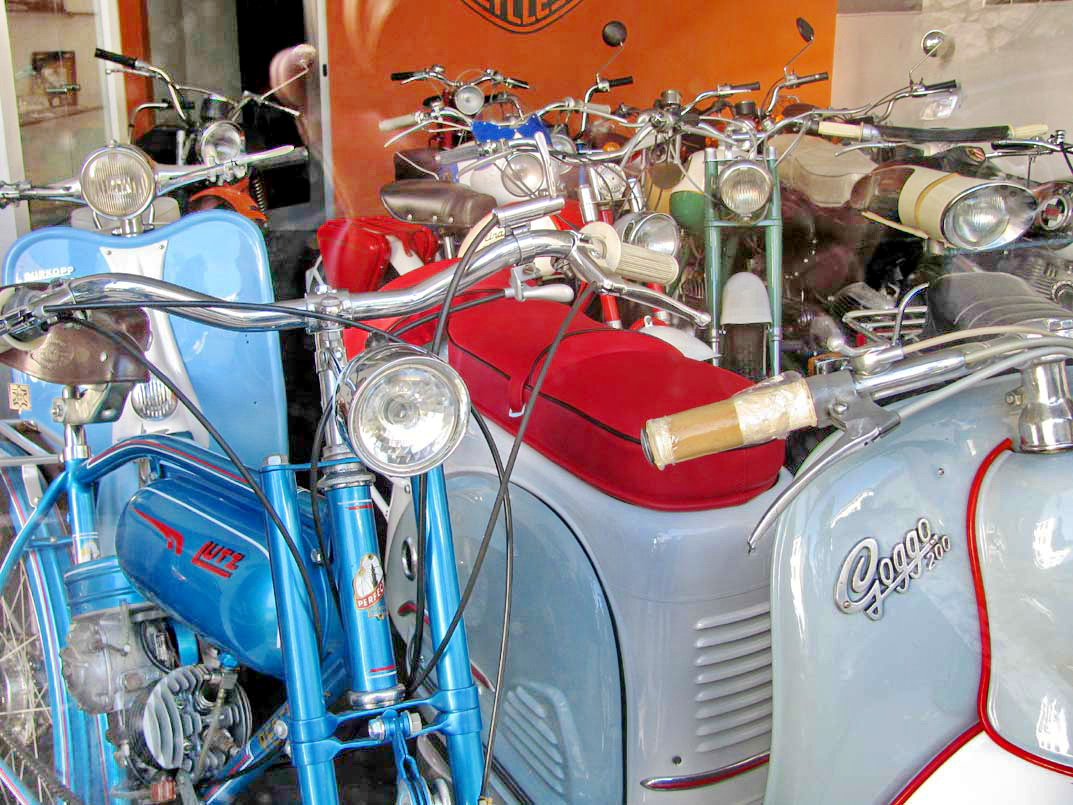 old motorcycles