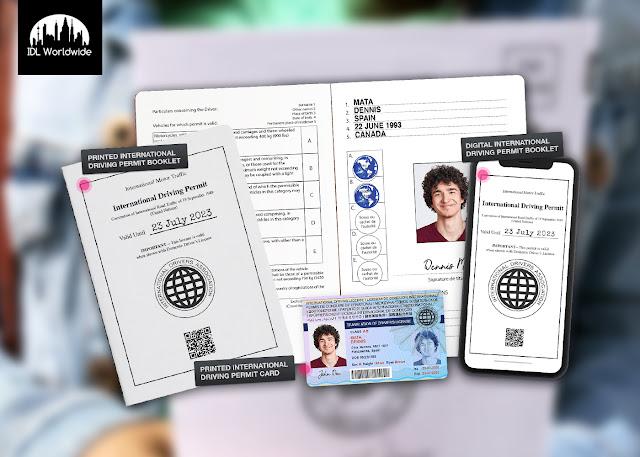 International Driver's License France
