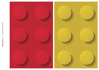 Lego Party Free Printable Banners.