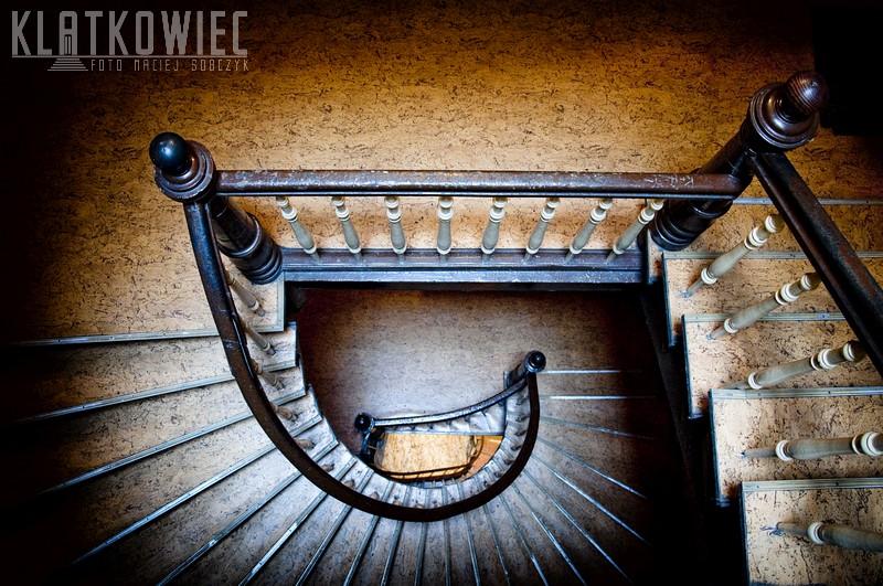 Leszno: kręcone schody