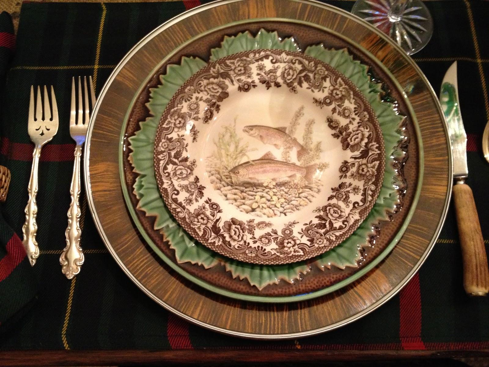 vignette design: A Fisherman's Dinner Tablescape
