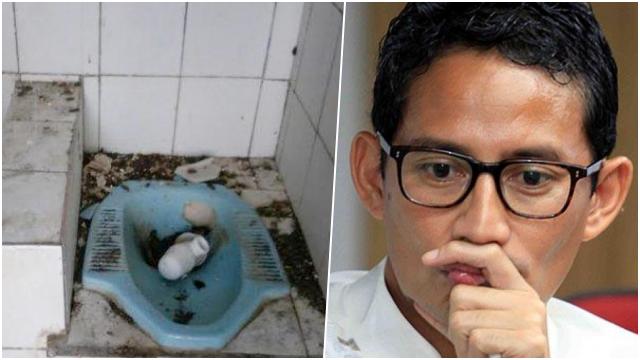 Diminta Luhut Perbaiki WC Tempat Wisata, Sandiaga Bentuk Satgas Toilet Nasional
