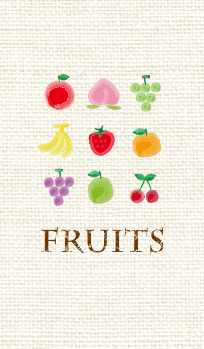 fruits -watercolor style-