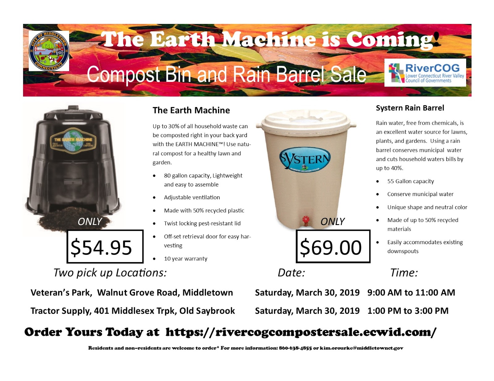 Compost Bin And Rain Barrel