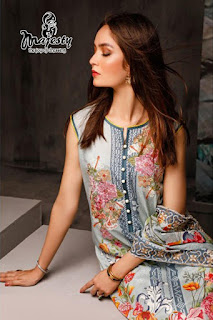Majesty firdous vol 2 the luxury lawn pakistani Suits catalog wholesaler