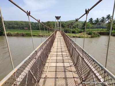 suspension bridge near Gokarna