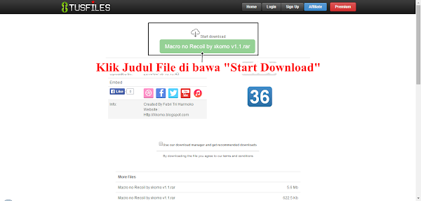 Tutorial Cara Download File Di Tusfiles By Blog X Komo