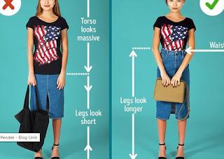Memilih Fashion untuk Wanita Pendek Agar Lebih Trendi