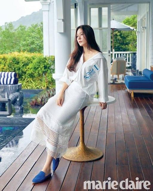 Bộ ảnh tạp chí của diễn viên Kim Ha Neul tại InterContinental Danang Sun Peninsula Resort