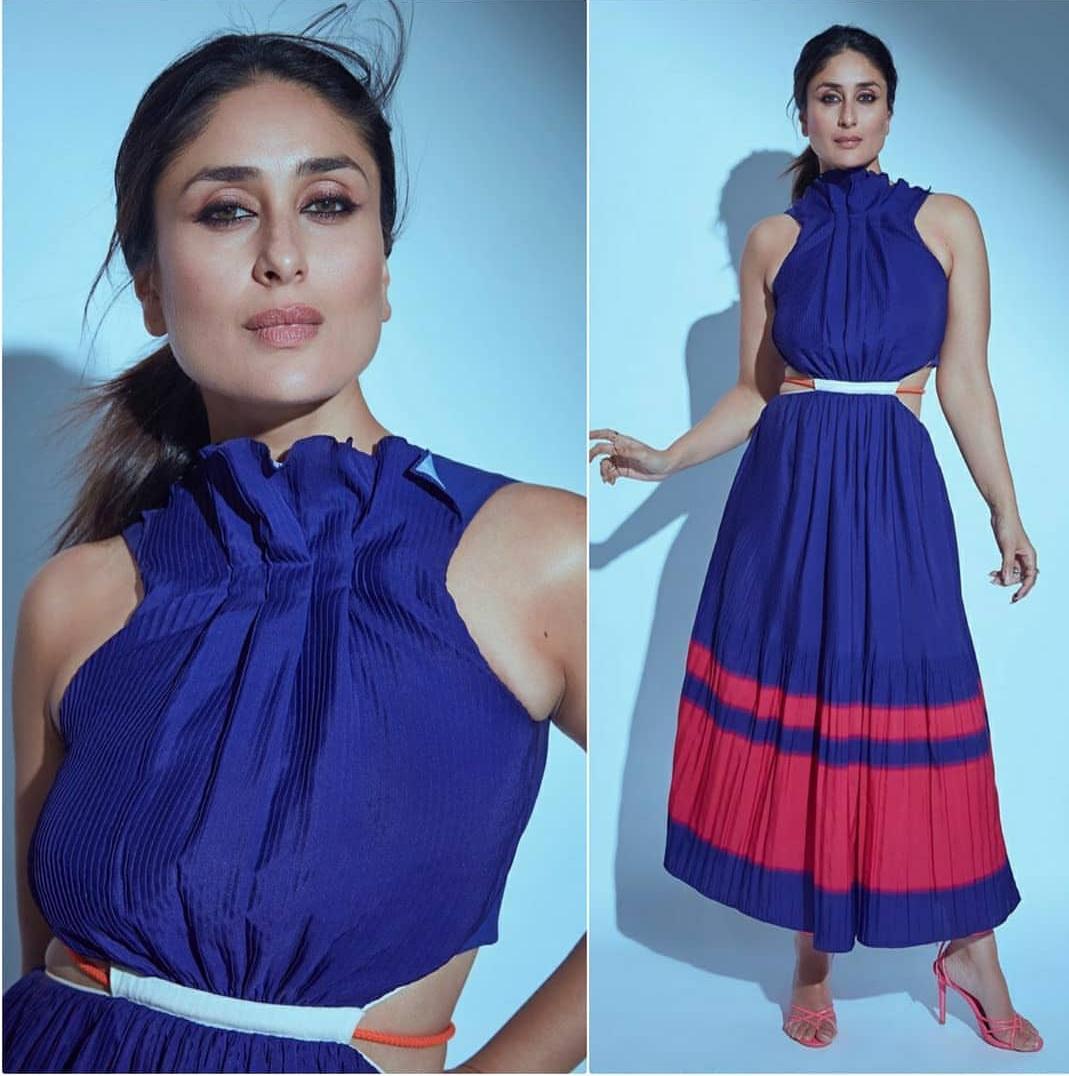 Kareena Kapoor Stuns in This Blue Dress - Rampdiary