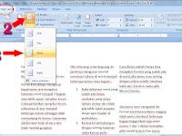 Cara Membuat Halaman Microsoft Word Menjadi Beberapa Bagian Seperti Koran