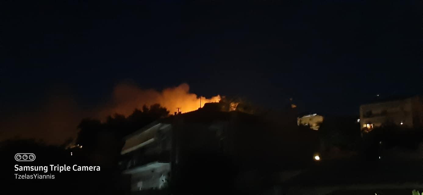 Πυρκαγιά στο κάστρο Διδυμοτείχου