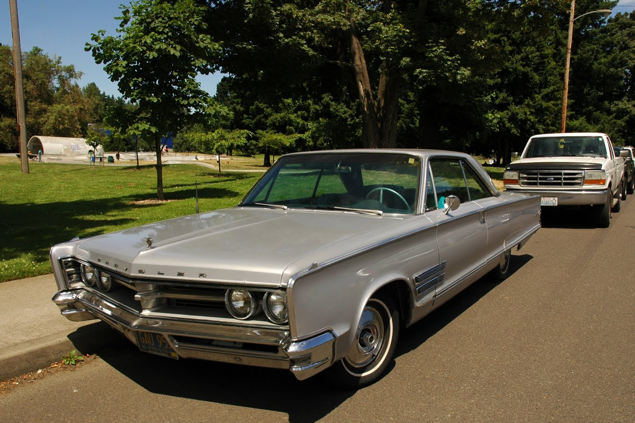 """Parked Cars Revisited 1966 Chrysler Newport 4 Door: The """"Rate The Vehicle Above You"""" Thread!"""