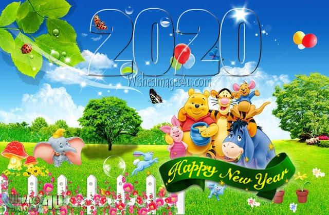 2020 New Year 3D Wallpapers Download