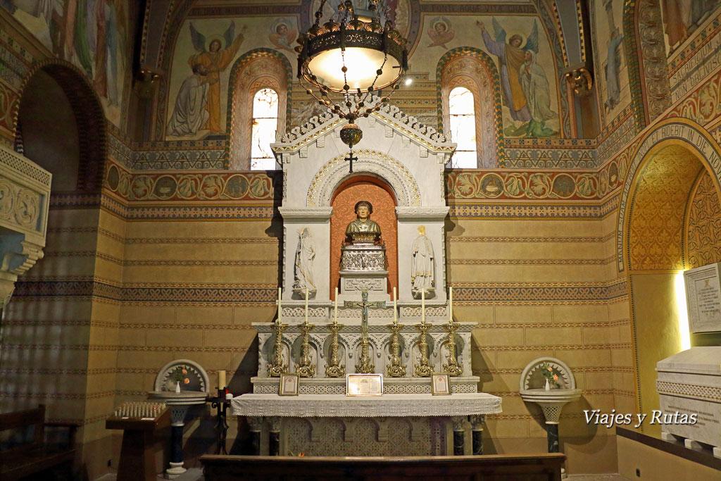 Capilla de San Eudald, Monasterio de Santa María de Ripoll,