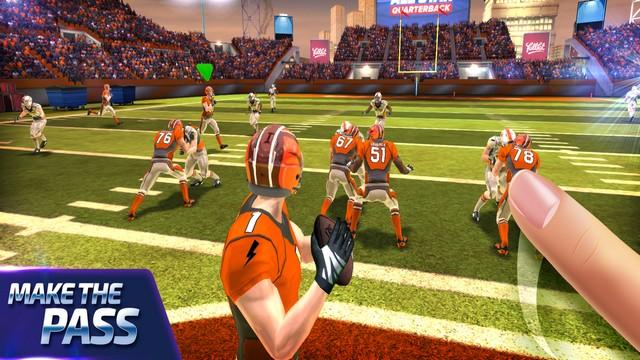 أفضل ألعاب كرة قدم NFL للايفون