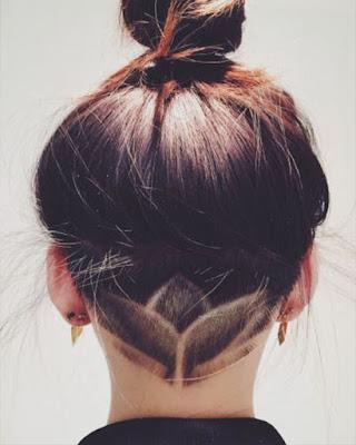 peinado recogido tumblr con trenza