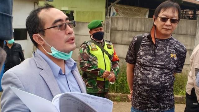 Eksekusi Lahan PT. Hayako, Kuasa Hukum Pemilik Lahan Menilai PN Bale Bandung Salah Subjek Hukum