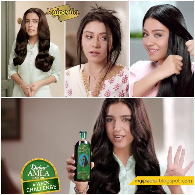 Maya Ali in Dabur Amla TVC 2016 - 4 Week Challenge