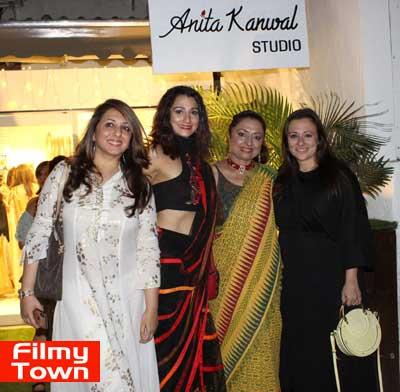 Filmy Celebrities Grace The Launch Of Anita Kanwal S Studio