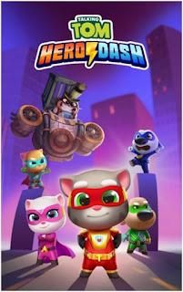 Talking Tom Hero Dash Apk Download
