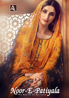 Alok Suits Noor e patiyala vol 4 catalog