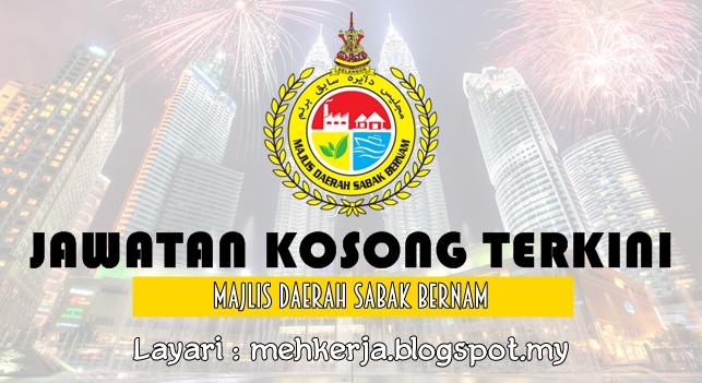 Jawatan Kosong Terkini 2016 di Majlis Daerah Sabak Bernam